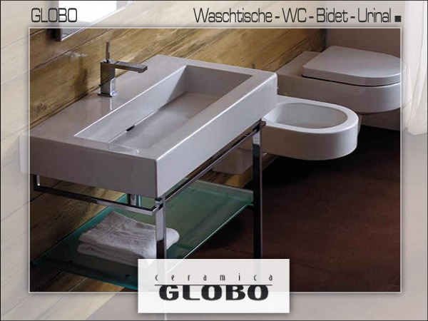 hersteller globo f r waschtische wc etc bad. Black Bedroom Furniture Sets. Home Design Ideas