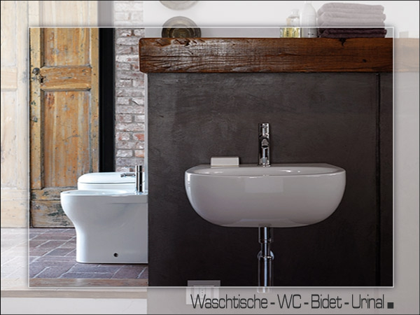 waschtische wc sch ssel wc becken. Black Bedroom Furniture Sets. Home Design Ideas